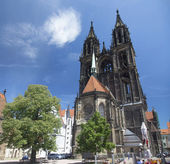 Meissen cathedral in Meissen, Germany — Stock Photo