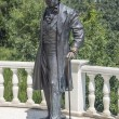 "Stock Photo: Monument to Alexander Pushkin pension ""Aivazovsky"" Crimea"