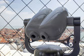 Spyglass on the bell tower of the Cathedral of St. Mark in Venice — Foto Stock