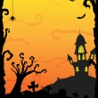Halloween background — Stock Vector #12602271