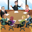 Business meeting — Stock Vector #12735636