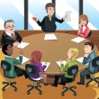 Business meeting — Stock Vector