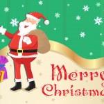 Рождественские карточки дизайн — Cтоковый вектор