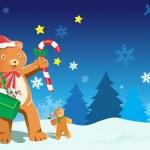 Рождественский дизайн — Cтоковый вектор