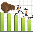 Royalty-Free Stock Vector Image: Bear market