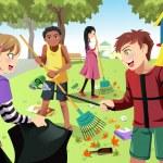 ������, ������: Volunteer kids