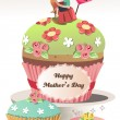 Stock Vector: Mothers day