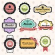Royalty-Free Stock Immagine Vettoriale: Vintage bakery labels