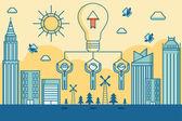 Business teamwork concept — Stock Vector