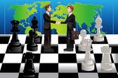 Business merger concept — Stock Vector