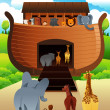 Noahs ark — Vector de stock #39945047