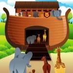 Arca Noahs — Vector de stock