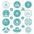 Nautical  icons — Stock Vector #41942453
