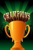 Champions poster — Stock Vector