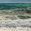 Stock Photo: Choppy sea