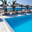 Relax by the pool — Stockfoto