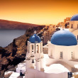Santorini Sunset - Foto Stock