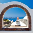 Stock Photo: Window to Paradise