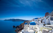 Santorini Churches — Stock Photo