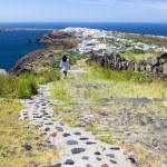 Santorini Path — Stock Photo