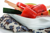 Watermelon popsicle — Stock Photo