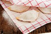Pierogi or dumpling — Stock Photo