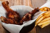 куриные голени — Стоковое фото