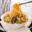Asian curry noodles — Stock Photo #14069755