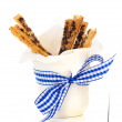 Puff pretzel sticks — Stock Photo #14719621