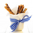 Puff pretzel sticks — Stock Photo #14723201