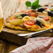 Homemade pizza - Foto de Stock