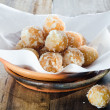 Fried dessert balls — Stock Photo