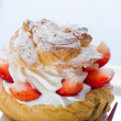 Cream puff — Foto de Stock