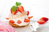 Kremalı pasta — Stok fotoğraf