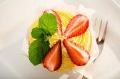 Citron cupcake — Stockfoto