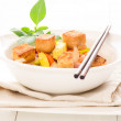 vegetarian food&quot — Stock Photo
