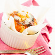 Caramel muffin — Stock Photo