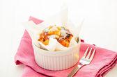 Karamelové muffin — Stock fotografie