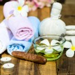 Spa massage set - Stock Photo