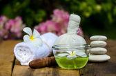 Spa massage set — Stock Photo