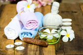 Spa massage set — Stock Photo