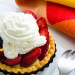 Stock Photo: Fruit tart