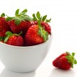 Strawberry bowl — Stock Photo #27236221