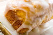 Sugar Glazed Butternut Squash Cake — Stock Photo