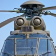 Military helicopter — Stock Photo