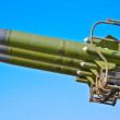 Aircraft combat missiles aimed at the sky — Stock Photo #12583097