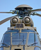 Military helicopter — Photo