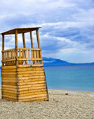 Life Guard Tower on the beach — Stock Photo