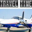Travel Time plane — Stock Photo #14239191