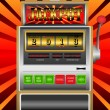 New year 2013 in slot machine vector illustration — Stock Vector